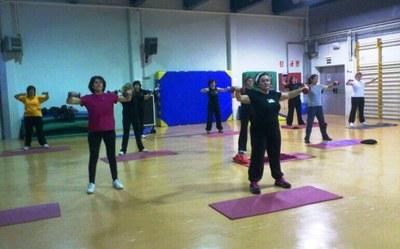 El gimnàs de l'escola Circell tornarà a acollir a Moja la gimnàstica de manteniment per adults