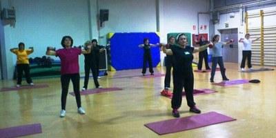 Obertes les inscripcions per a participar en la gimnàstica de manteniment per adults a Olèrdola