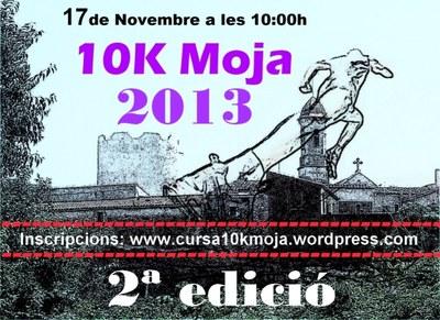 Obertes les inscripcions per participar en la 2a edició de la cursa 10K de Moja