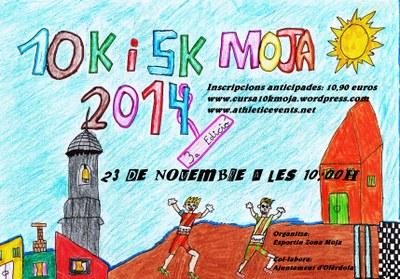 Obertes les inscripcions per participar en la 3a Cursa 10K i 5 K de Moja