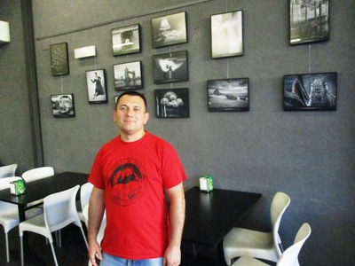 Ignasi Blanca, president de l'Associació Fotogràfica de Moja