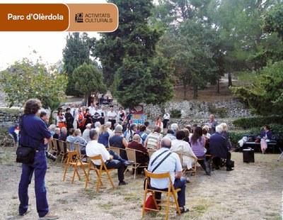 """Olèrdola acull el recital poètic i musical """"Una passejada per la literatura grega i llatina"""""""