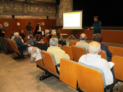El programa es presentava dijous al vespre, al Local Nou de Moja