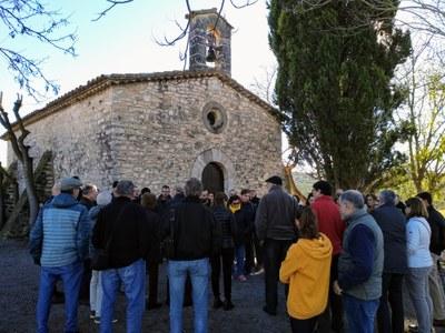 Olèrdola atrau a 740 visitants en tres anys de Rutes pel Patrimoni