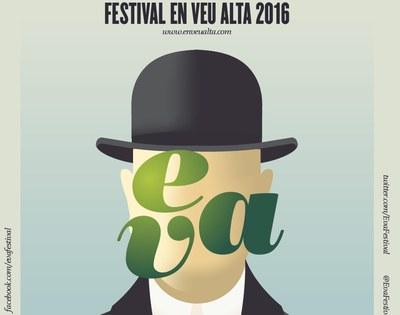 Fragment del cartell que anuncia el Festival