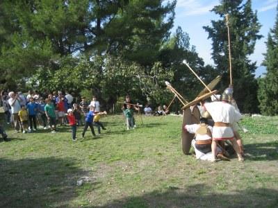 Cada any Olèrdola participa en el Cap de Setmana Ibèric(foto:arxiu)