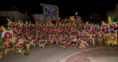 Olèrdola ha gaudit aquest cap de setmana de tres animades rues de Carnaval