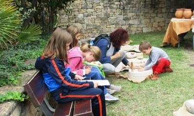 Olèrdola ha ofert un atractiu taller d'alimentació dins del Cap de Setmana Ibèric
