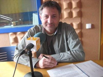 Xavier Serramià, regidor de noves tecnologies de l'Ajuntament d'Olèrdola