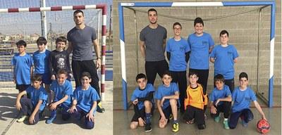 Olèrdola participa amb 2 equips en el campionat aleví de primavera de futbol sala dels jocs JESPE