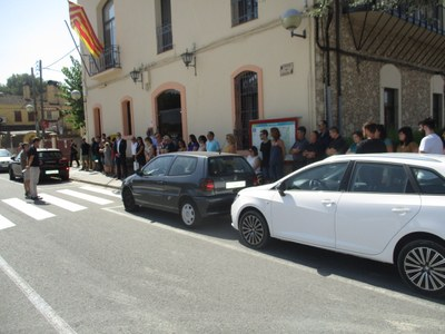 Olèrdola rebutja el terrorisme i expressa el seu suport a les víctimes