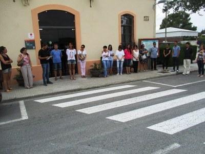 Olèrdola recorda les víctimes dels atacs terroristes