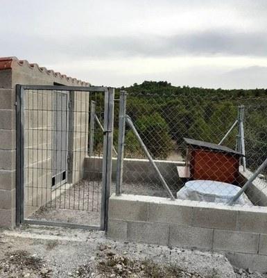 Instal·lació de la colònia de gats a Daltmar