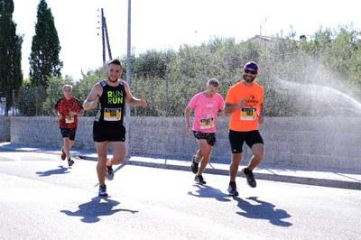 Un moment de la cursa. Foto:Josep Lluís Acedo