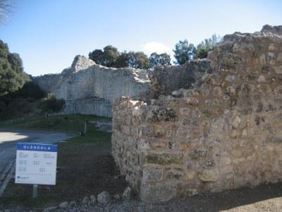 Una de les comunicacions està dedicada a la torre medieval de la muralla d'Olèrdola
