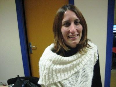 Arantxa Torres, regidora de cultura de l'Ajuntament d'Olèrdola