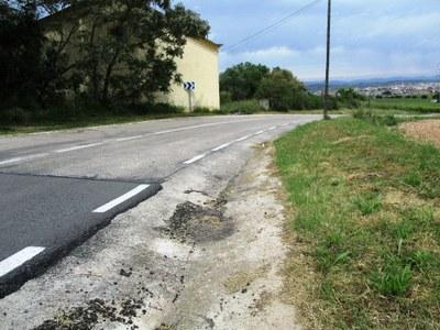 Per obres de reasfaltat al revolt de Mas Granell, el camí de Daltmar a Moja estarà tallat a la circulació de 8:00 a 13:00 h aquest dimecres