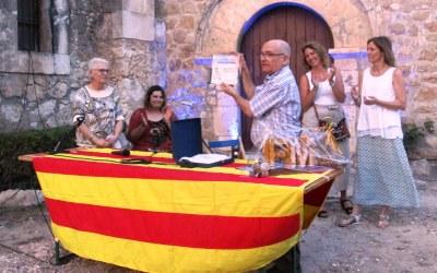 Pere Mitjans reparteix agraïments i encomana felicitat en el pregó de la FM de Moja