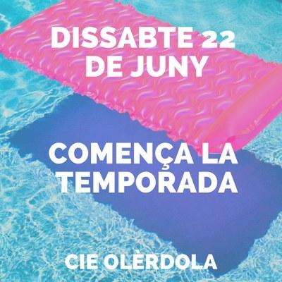 Portes obertes a la piscina del CIE Olèrdola aquest dissabte