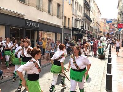 Presència d'Olèrdola en la Mostra de Cultura Catalana celebrada a Perpinyà