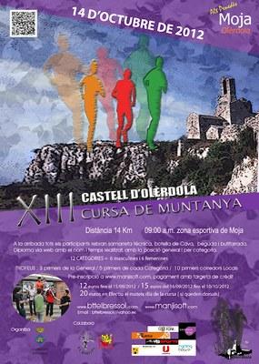"""Preu reduït  per les inscripcions anticipades a la Cursa de Muntanya """"Pujada al Castell d'Olèrdola"""""""