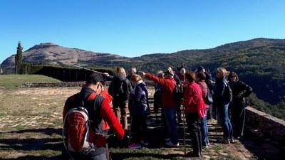 Primera sortida des d'Olèrdola en el cicle de passejades que organitza la Diputació