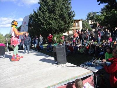 Prop de 500 persones han participat aquest diumenge en la Festa Major del parc