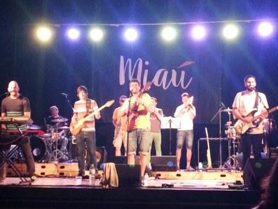 Qualitat i grans dosis de bon rotllo al concert que Miaú oferia divendres a Moja