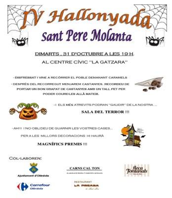 """Quarta """"Hallonyada"""" de Sant Pere Molanta aquest dimarts al vespre"""