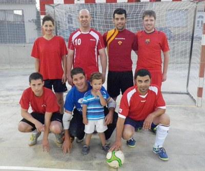 L'equip del carrer Manel Crespo, guanyador de l'any passat
