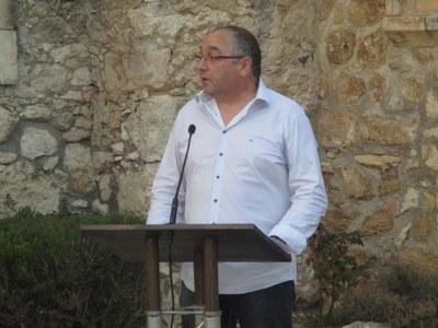 Rafa Martínez reclama millores en equipaments al poble i més implicació dels veïns amb les entitats