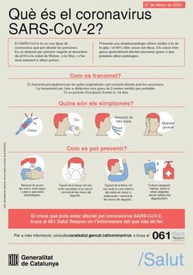 Recomanacions davant la fase d'alerta pel coronavirus