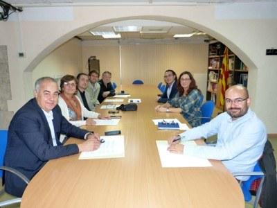 Renovada la col·laboració amb el Consell Comarcal per a la promoció econòmica i l'ocupació