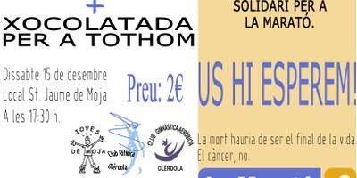 Rítmica, Aeròbic i Joves de Moja sumen esforços i preparen una activitat a benefici de La Marató