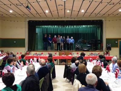 Rodona celebració del 10è aniversari del Casal d'Avis de Sant Pere Molanta
