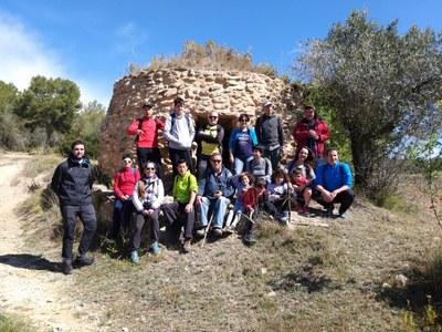 Participants en la ruta (foto:X.Serramià)
