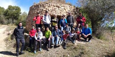Ruta pel representatiu patrimoni de les barraques de pedra seca a Olèrdola