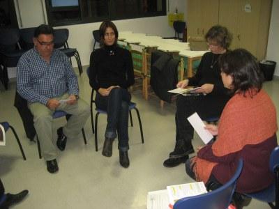 Sessió dedicada al voluntariat per la llengua, celebrada aquest dimarts a Moja