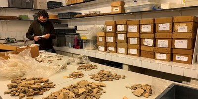 S'assoleix la xifra de 500.000 restes arqueològiques trobades al conjunt històric d'Olèrdola