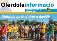 """S'edita un nou número del butlletí municipal """"Olèrdola Informació"""""""