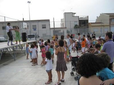 """L'espectacle infantil, amb """"Tres per Res"""", tancava la festa"""