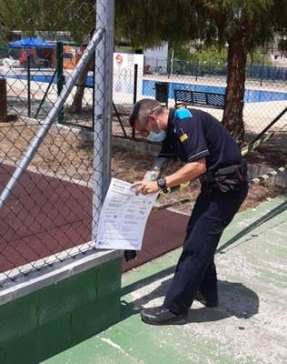 S'ha completat la desinfecció dels parcs infantils d'Olèrdola