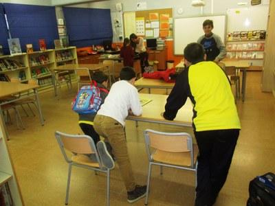 S'ha reprès el Servei de Biblioteca Oberta a les escoles d'Olèrdola
