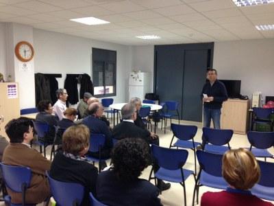 La primera xerrada s'ha fet a Sant Pere Molanta