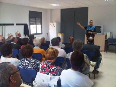 El passat 23 d'octubre la xerrada es va fer a Sant Pere