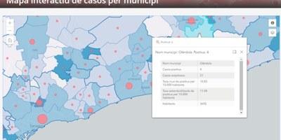 Salut millora els mapes interactius COVID-19 que proporcionen informació actualitzada sobre la pandèmia