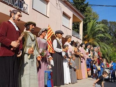 Sant Pere Molanta ha celebrat aquest diumenge una lluïda 19a Trobada de Gegants