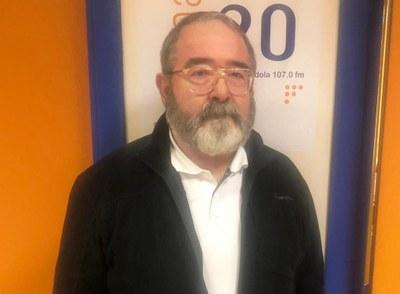 Josep Baltà, president de l'Associació de Col·leccionistes de Plaques de Cava del Penedès