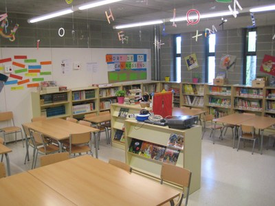 Satisfacció a l'escola de Sant Pere Molanta per l'obertura de la biblioteca les tardes de dilluns