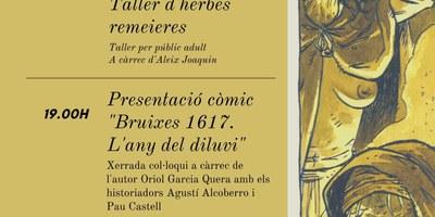 """S'enllesteixen els preparatius de la jornada lúdica i cultural que organitza l'Ajuntament per presentar el còmic """"Bruixes 1617"""""""